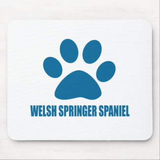 WELSH SPRINGER SPANIEL DOG DESIGNS MOUSE PAD