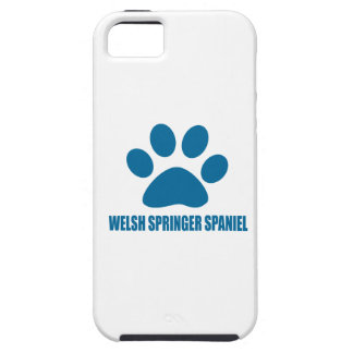 WELSH SPRINGER SPANIEL DOG DESIGNS TOUGH iPhone 5 CASE