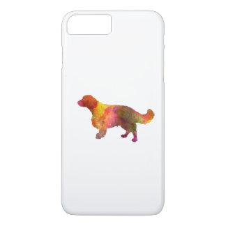 Welsh Springer Spaniel in watercolor iPhone 8 Plus/7 Plus Case