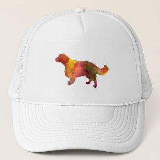 Welsh Springer Spaniel in watercolor Trucker Hat