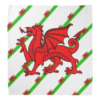 Welsh stripes flag bandana