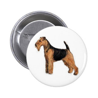 Welsh Terrier 6 Cm Round Badge