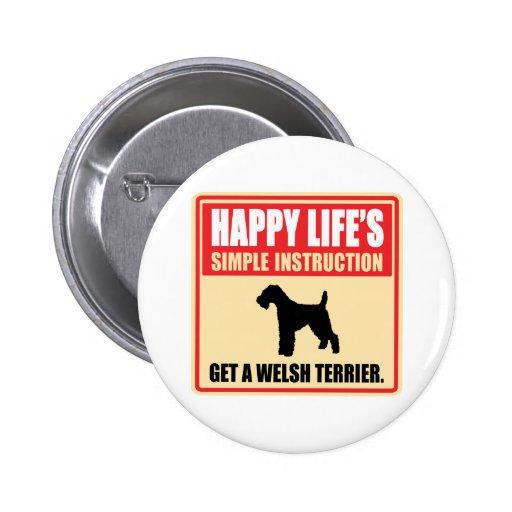 Welsh Terrier Buttons