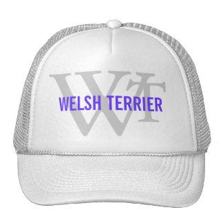 Welsh Terrier Breed Monogram Cap