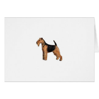 Welsh Terrier Card