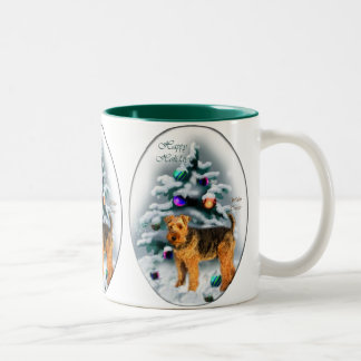 Welsh Terrier Christmas Gifts Mugs