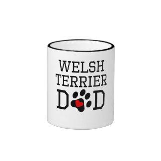 Welsh Terrier Dad Coffee Mugs