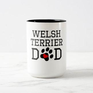 Welsh Terrier Dad Coffee Mug
