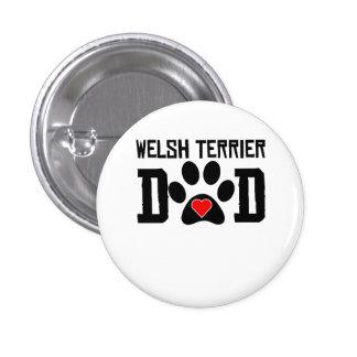 Welsh Terrier Dad Pins