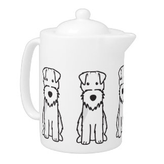 Welsh Terrier Dog Cartoon