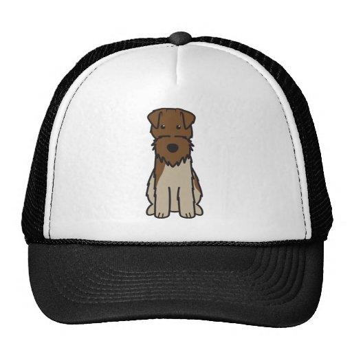 Welsh Terrier Dog Cartoon Hats