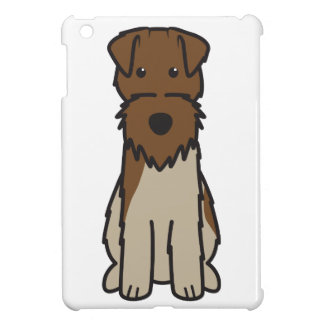 Welsh Terrier Dog Cartoon iPad Mini Case