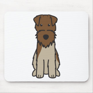 Welsh Terrier Dog Cartoon Mouse Pad