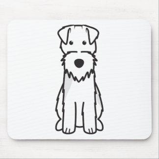 Welsh Terrier Dog Cartoon Mouse Pads