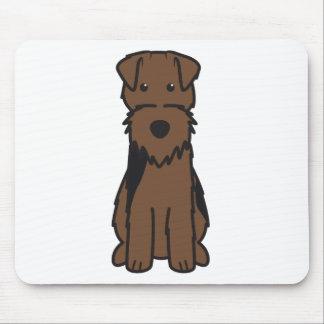 Welsh Terrier Dog Cartoon Mousepad