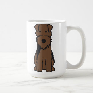 Welsh Terrier Dog Cartoon Mug