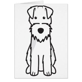 Welsh Terrier Dog Cartoon Note Card