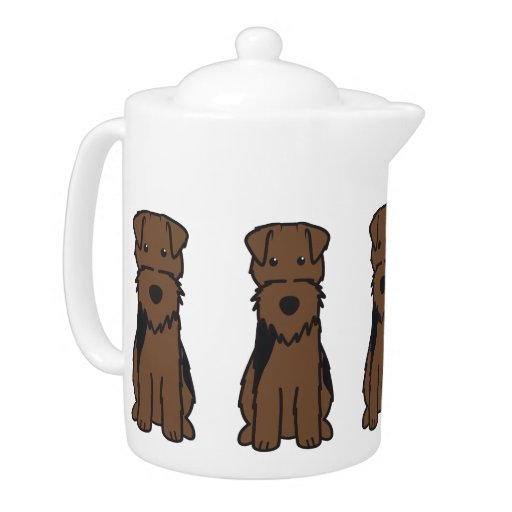 Welsh Terrier Dog Cartoon