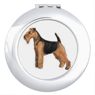 Welsh Terrier Dog Compact Mirror