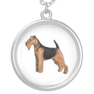 Welsh Terrier Dog Necklace
