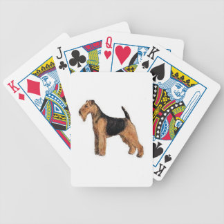 Welsh Terrier Dog Playing Cards