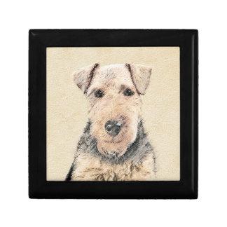 Welsh Terrier Gift Box