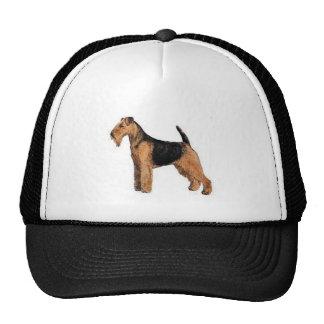 Welsh Terrier Trucker Hats