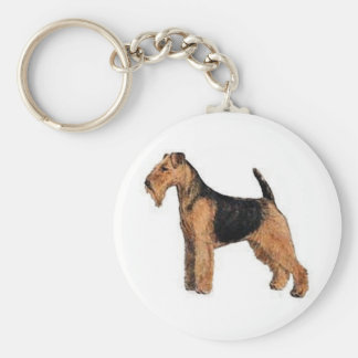 Welsh Terrier Key Ring