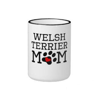 Welsh Terrier Mom Coffee Mugs