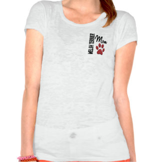 Welsh Terrier Mom Paw Print 2 Shirt