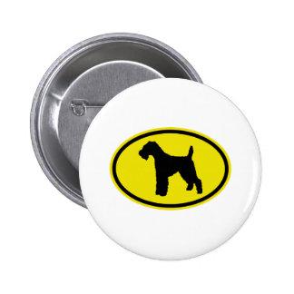 Welsh Terrier Pinback Buttons