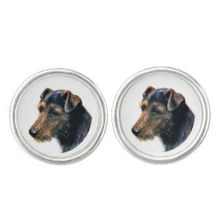 Welsh Terrier Cufflinks
