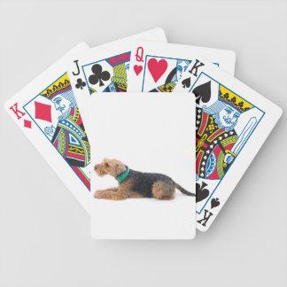 Welsh Terrier Poker Cards