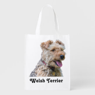 Welsh Terrier Reusable Shopping Bag