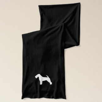 Welsh Terrier Silhouette Scarf