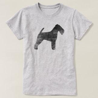 Welsh Terrier Silhouette T-Shirt