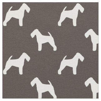 Welsh Terrier Silhouettes Pattern