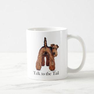 Welsh Terrier Tail Mug