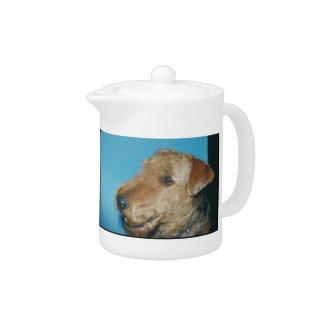 Welsh Terrier Teapot