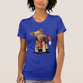 Welsh Terrier With Toy Fox T-shirts