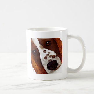 Welshie Face Art Coffee Mug