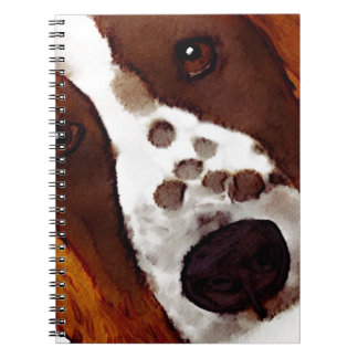 Welshie Face Art Notebooks