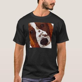 Welshie Face Art T-Shirt