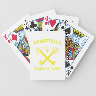 Welters Bicycle Playing Cards