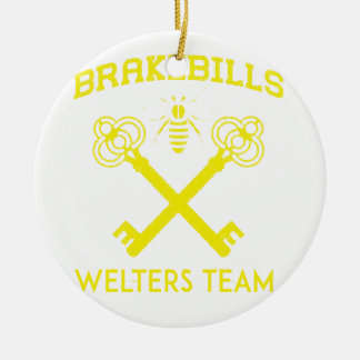 Welters Ceramic Ornament