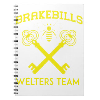 Welters Spiral Notebook
