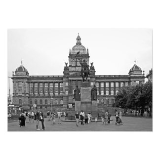 Wenceslas Square in Prague Photo Print