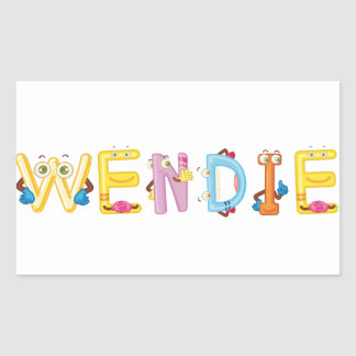 Wendie Sticker