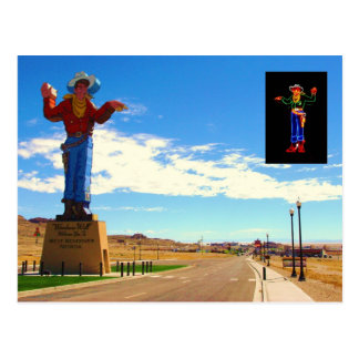 Wendover Will - Day & Night Postcard