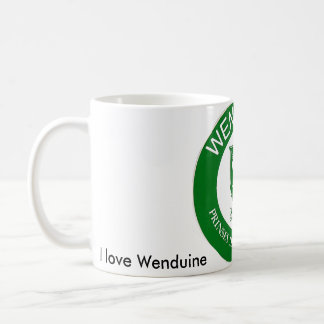 Wenduine sulk coffee mug